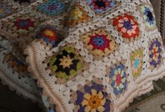 Priscillas: Summer garden granny is finished !