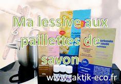 Ma recette de lessive au savon végétal ou savon de Marseille