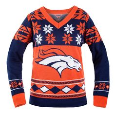 Denver Broncos Ugly Christmas Sweaters omg yesssss!