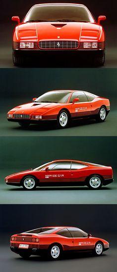 1987 Ferrari PPG Pacecar / Mondial T / Ercole Spada @ I.D.E.A. / Italy / red