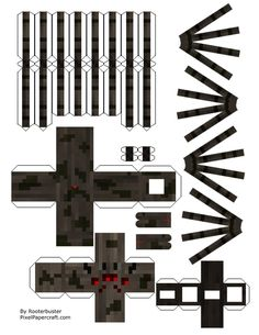 Minecraft Spider, Minecraft Mobs, Minecraft Pixel Art, Minecraft Crafts, Minecraft Party, Minecraft Skins, Amazing Minecraft Houses, Minecraft House Designs, Minecraft Creations