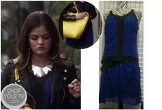 Shop Your Tv: Pretty Little Liars: Season 3 Episode 17 Aria's Blue Dress Grunge Look, 90s Grunge, Grunge Girl, Pretty Little Liars Seasons, Pretty Little Liars Fashion, Le Happy, Aria Style, My Style, Aria Montgomery Outfit