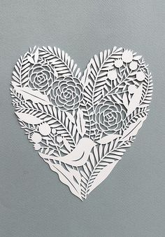 Cut Paper Heart | by all things paper