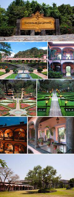 Hacienda de San Antonio, Colima, Mexico - horseback riding, an active volcano, and a coffee plantation!