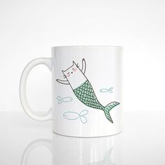 1 mug - My original illustration printed on BOTH sides - White ceramic, glossy finish - Dishwasher safe (top rack) - Microwave safe  WANT IT MORE PERSONALIZED? To have the other side personalized, also purchase this listing: www.etsy.com/listing/240631688 Added cost $5 USD. Carefully read all details to make sure you place your order correctly.  - - -  ➤ PRODUCTION TIME Made to order just for you :) Created and ready to ship within *max. 7 business days* (actual production time can be…