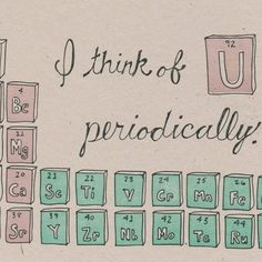 49 best pickup lines images on pinterest pick up lines cheesy periodic table greeting card science valentine via etsy find this pin and more on pickup lines urtaz Images