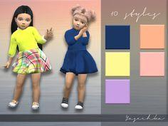 Lana CC Finds - Toddler Dress Elise