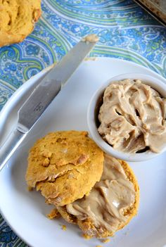 Sweet Potato Biscuits with Cinnamon Maple Butter | The Housewife in Training Files
