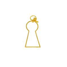 Kelly Wearstler Key Hole Key Chain @ Pieces