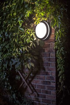 Circular outdoor light of aluminum with an opal-colored polycarbonate diffuser for ceiling or wall mounting. Garden Lamps, Opal Color, Outdoor Lighting, Diffuser, Ceiling, Studio, Wall, Design, Ceilings