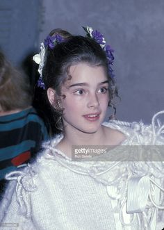 A young Brooke Shields