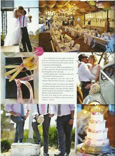 Bride's Diary magazine feature a picnic wedding in Cullinan at JanHarmsgat se Agterplaas. Unique Wedding Venues, Cute Wedding Ideas, Table Decorations, Bride, Day, Theatre, Picnic, Magazine, Weddings