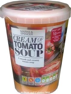 Cream of Tomato Soup from Marks & Spencer