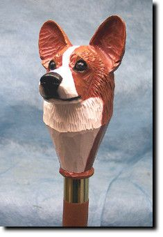 Welsh Corgi Dog Walking Stick
