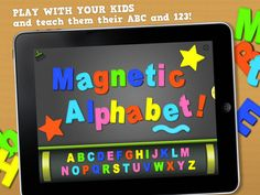 Magnetic Alphabet App When I sit back and watch students demonstrate their spelling, I can immediately recognize what letter/word knowledge they already have. Letter tile apps without game restraints are useful when teachers need to evaluate how well students can make analogies between words and transfer their un...