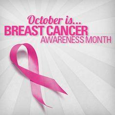 Today is the start of #BreastCancerAwarenessMonth! #GoPink
