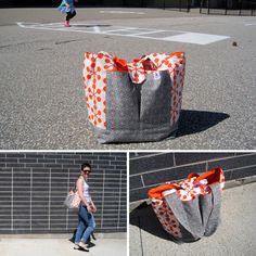 Sew Much Ado Diaper Bag tutorial à la Thread Riding Hood