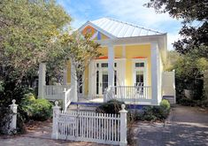 """Seaside Vacation Rental - VRBO 287503 - 4 BR Beaches of South Walton Cottage in FL, In Seaside Proper """"Heavenly Days"""" 3rd Cottage up from Beach!"""