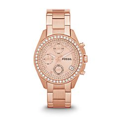 Fossil Decker Chronograph Stainless Steel Watch - Rose You can get this on AMAZON for cheaper:http://www.amazon.com/dp/B00DWIDN4W/ref=cm_sw_r_pi_dp_N4KNsb1JEMAKG4JP