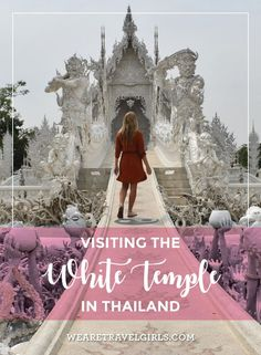VISITING THE WHITE TEMPLE IN THAILAND This spring my friend and I spent 10 glorious days in Thailand, and I fell in love with everything about their culture. After a lovely stay at Four Seasons Chiang Mai, it was time to head to our next destination, Fours Seasons Tented Camp in the golden triangle. FS Chiang Mai set up a driver to take us on the 4.5hr trek across the country to their sister hotel. So we took advantage of the White Temple being on the way and stopped to check it out and of…