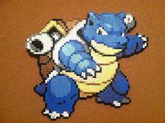 Blastosie Perler Beads 8bit Art Pokemon Starter. by ElisaStarfire, $30.00