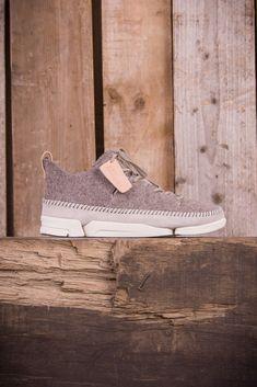 newest 9fd13 fa058 Clarks Originals Trigenics Flex Wool - Grey Felt - Footwear - The Priory -  1 Sneakers