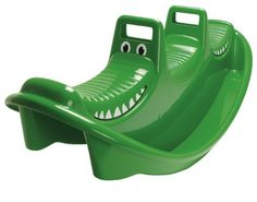 Original Toy Company Dantoy Crocodile Rocker - - Product Description: 6721 Features: -Holds up to 3 children.-Smooth round corners with 2 easy grip handles.-Suitable for both in and outd