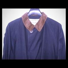 Polo by Ralph Lauren Jackets & Blazers - Polo by Ralph Lauren Navy Rubber-back Trench NWOT