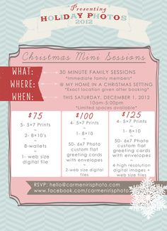 Christmas Mini Sessions » Hey Lovely Photography