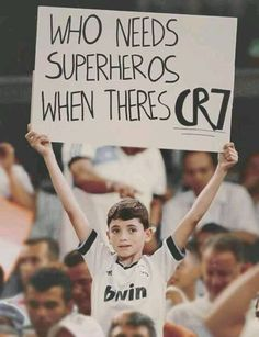 CR7 This is cute!