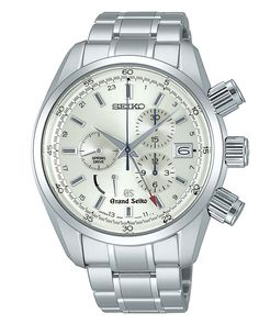 Grand Seiko, Spring Drive GMT Chronograph Watch, with 50 jewels and verticle clutch and column wheel, SBGC001  www.SeikoUSA.com