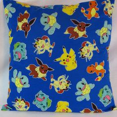 Decorative Pillow Accent Pillow Pillow Cover Pokemon by GeekyGirlM