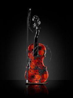 Kjell Engman - Crystal Violin by Jonas Lindström, via Flickr