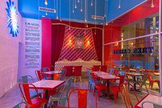 Project by Métricastudio : Taqueria La Lucha #restaurant #restaurantdesign #taqueria #restaurantinterior #interiordesign #design
