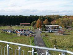 Bad Marienberg, Blick über den Wildpark vom Hedwigturm