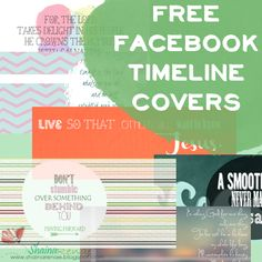 Facebook Freebies - Free Inspirational Timeline Covers :)