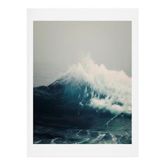 Bree Madden Sea Wave Art Print | DENY Designs Home Accessories