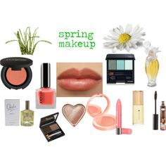 """spring makeup"" by expressingyourtruth on Polyvore"