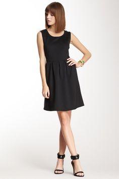 sleeveless, timeless black dress. $25
