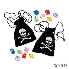 Pirate Bags ~ Oriental Trading