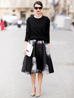 Street+Style+Crush:+Leila+Yavari+via+@Who What Wear
