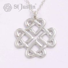 Ketting zilver Celtic Love Knot - De Spirituele Shop