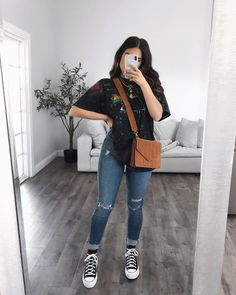 Cute Comfy Outfits, Classy Outfits, Trendy Outfits, Cool Outfits, Casual School Outfits, Style Outfits, Teen Fashion Outfits, Fashion Ideas, Women's Fashion