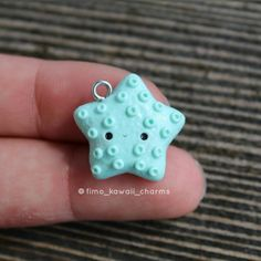 #kawaii #charms #polymer #clay #starfish