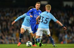 James Maddison of Leicester City in action with Oleksandr Zinchenko of Manchester City during the Premier League match between Manchester City and Leicester City at Etihad Stadium on May 2019 in. Get premium, high resolution news photos at Getty Images Manchester England, Manchester City, Manchester United, James Maddison, Premier League Matches, Leicester, United Kingdom, Soccer, Action
