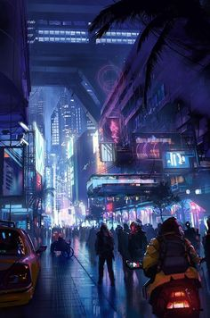 Post with 2698 votes and 129421 views. Tagged with blade runner, cyberpunk, harrison ford, ryan gosling, blade runner Shared by Blade Runner Art Dump Cyberpunk City, Arte Cyberpunk, Ville Cyberpunk, Cyberpunk Aesthetic, Futuristic City, Cyberpunk 2077, Futuristic Technology, City Aesthetic, Futuristic Architecture