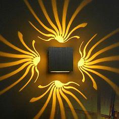 LED Wandleuchte, Moderne Aluminium Oxidation (verschiedene Farben) – EUR € 17.63