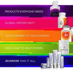 All available to buy on my online store http://www.yearsyoungeruk.jeunesseglobal.com/