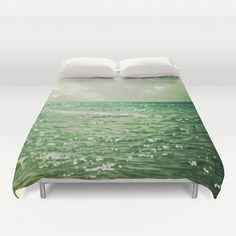 Sea of Happiness Duvet Cover by Olivia Joy StClaire - ultrasoft, hand sewn, microfiber duvet cover - http://society6.com/product/sea-of-happiness_duvet-cover?curator=duvetdivas#46=342