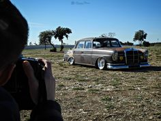 Mercedes 230S  _________________________ #mercedes #oldtimer #youngtimer #airride #lowered #slammed #mercedes230 #germancar #cars #stance #bbs #ratstyle #carofinstagram #instacar #bagged #germanlook #amazingcars247 #carporn #mechanics #custom
